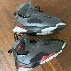 9c black and red Jordan's